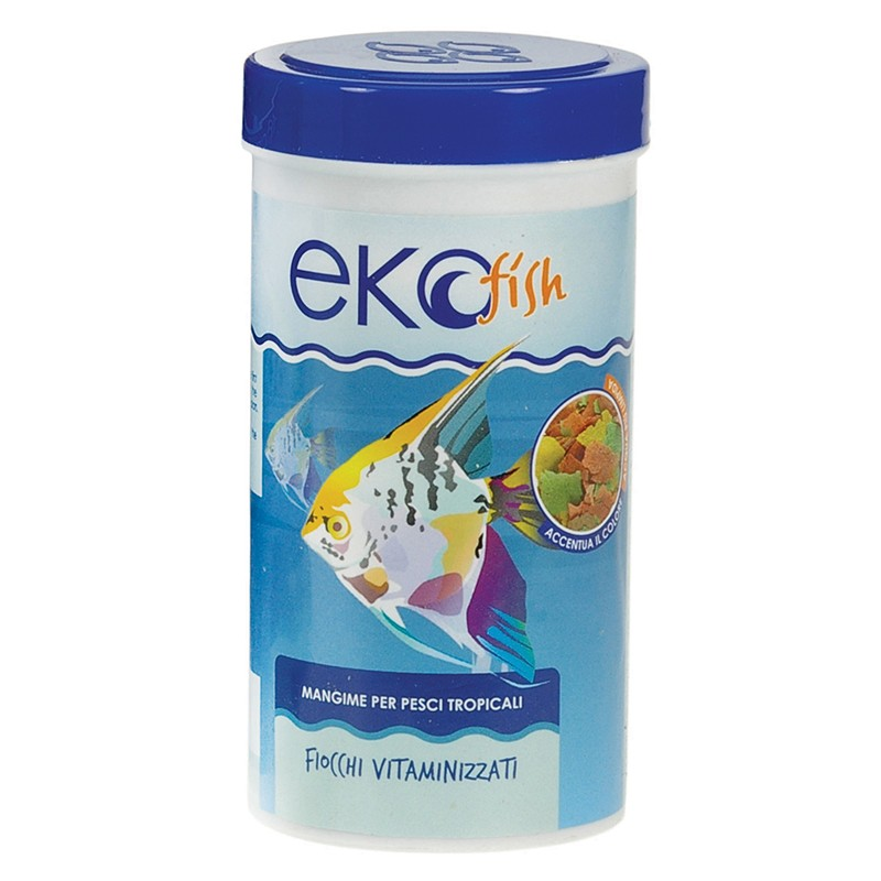 Acquista online mangime pesci tropicali ekofish 250ml for Pesci online