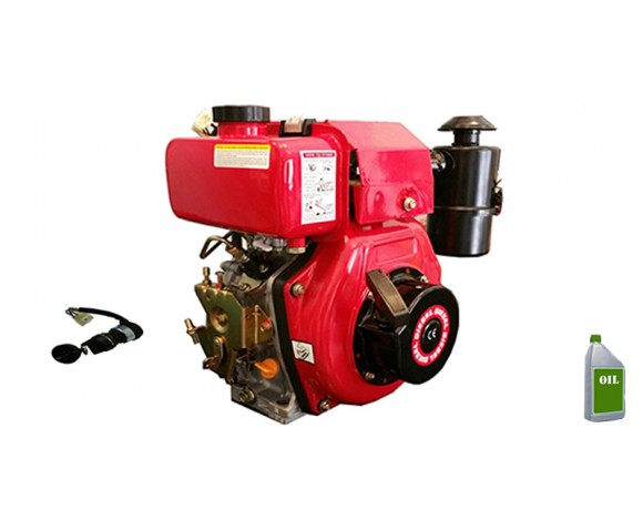 Motore a Diesel TrinAgria M418DAE 10HP Completo