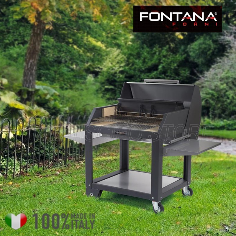 Acquista online Barbecue Fontana Mediterraneo 80 - Barbecue a Legna