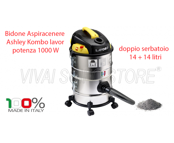 Aspiracenere Lavor Ashley Kombo 4 in 1 1200 Watt