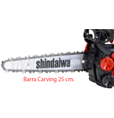 Motosega Shindaiwa barra carving