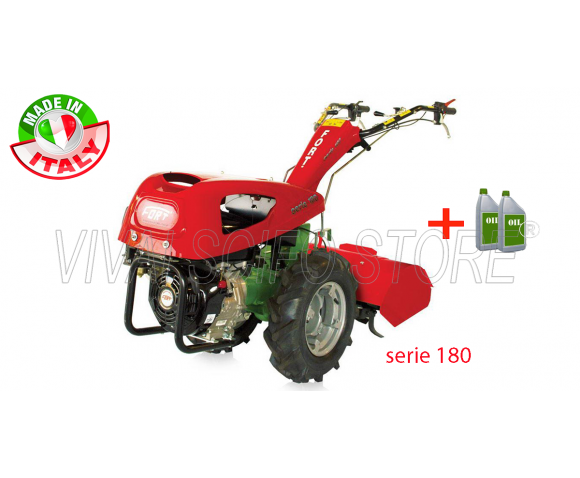 Motocoltivatore a Diesel Fort Serie 180 Motore Fort F70D 1HP