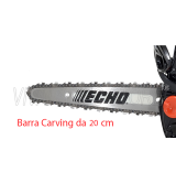 Motosega a scoppio ECHO CS 2511 TESC 8  barra carving 20 cm
