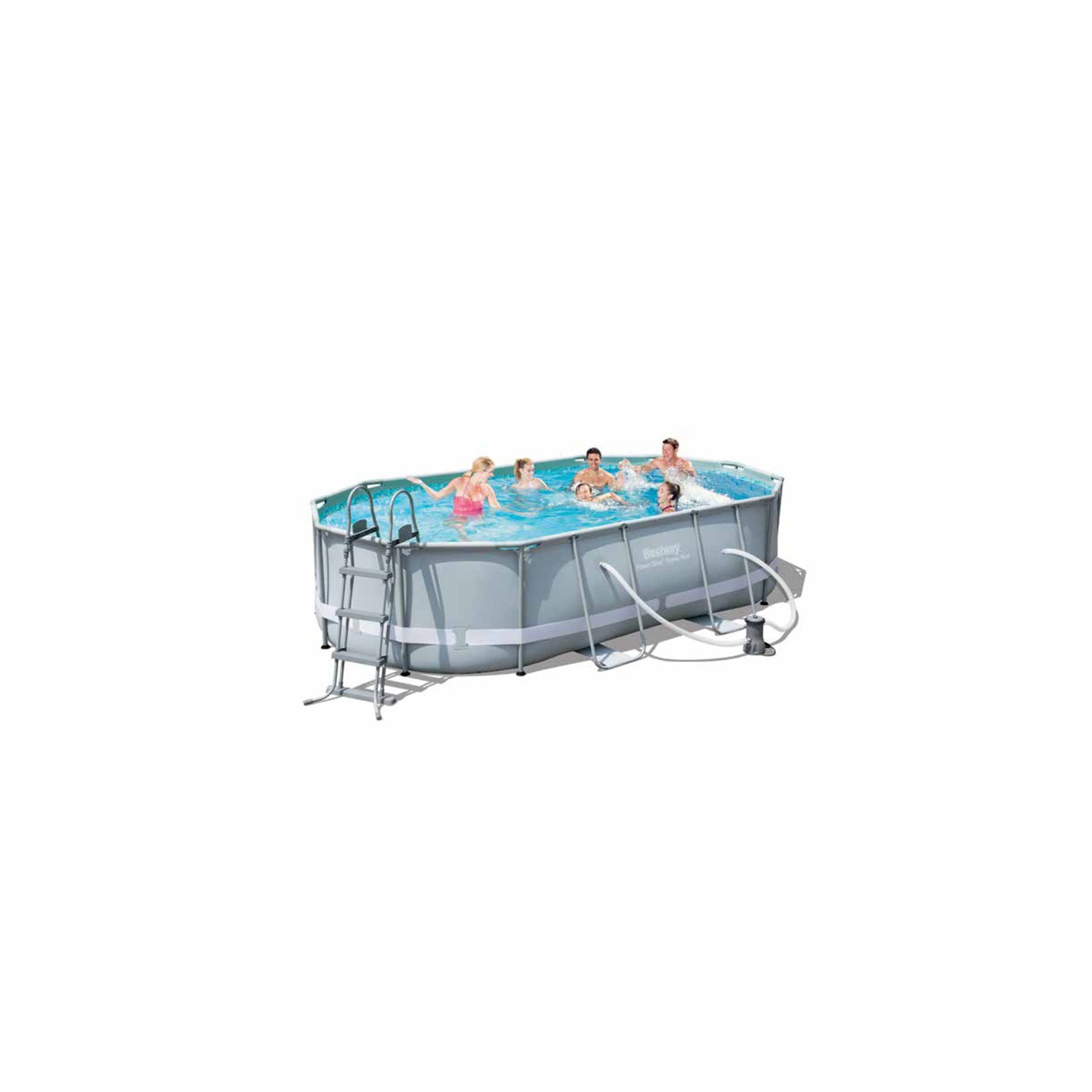 Acquista online piscina bestway ovale fuori terra cm for Piscine online