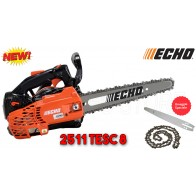 Motosega a scoppio Echo CS 2511 TESC 8  da potatura barra carving 20 cm