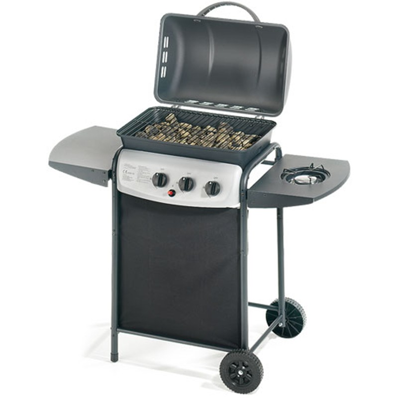Acquista online barbecue a pietra lavica ompagrill 4938 for Giordano shop barbecue a gas